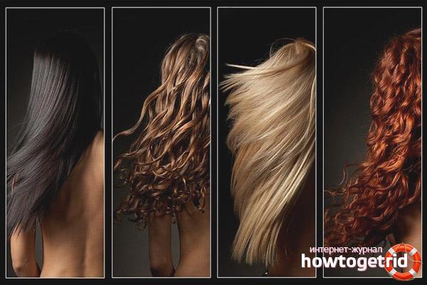 Типы волос