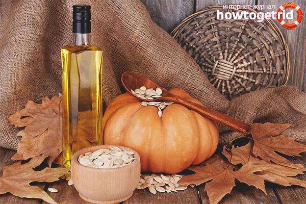 Польза масла тыквенных семечек