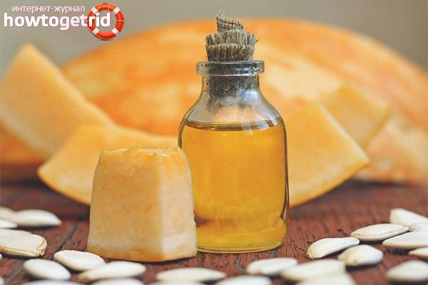 Приобретение и хранение тыквенного масла