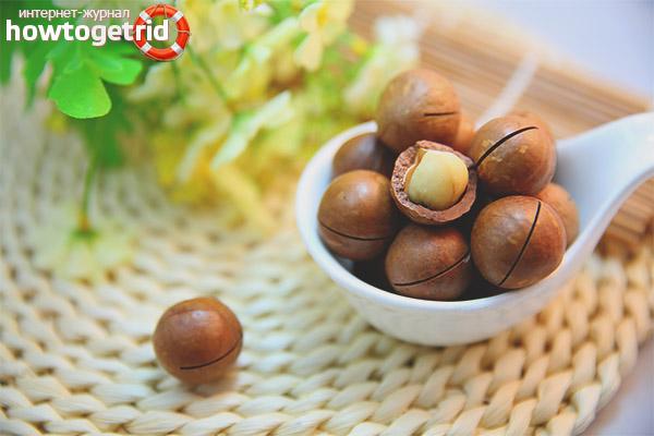 Снижение веса с орехами макадамия