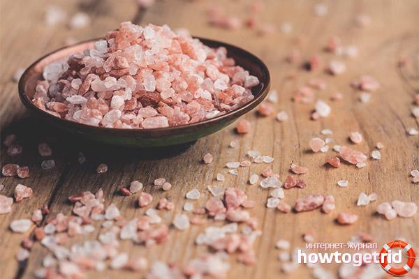 Полезные вещества в гималайской соли