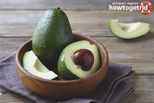Воздействие авокадо на мужской организм