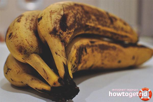 Что приготовить из почерневших бананов