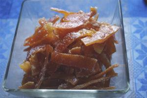 Цукаты из апельсиновых корок