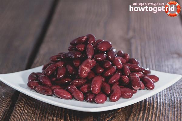Диетические рецепты с красной фасолью
