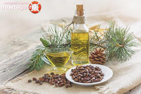 Полезные свойства масла кедровых орешков