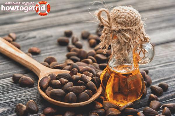 Польза и вред масла кедровых орехов
