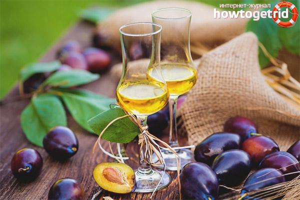Рецепты сливового вина