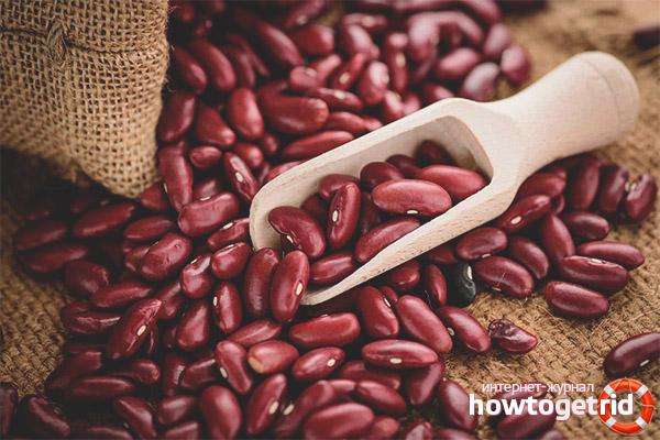 Вред красной фасоли при похудении