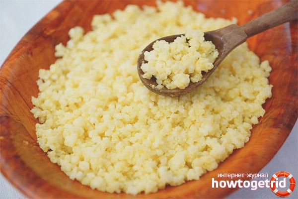 Выбор и приготовление пшеничной каши