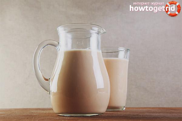 Чем отличается топленое молоко от обычного