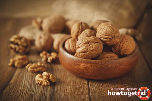 Грецкие орехи для детей