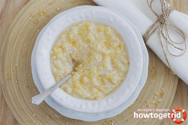 Кукурузная крупа в диетическом питании