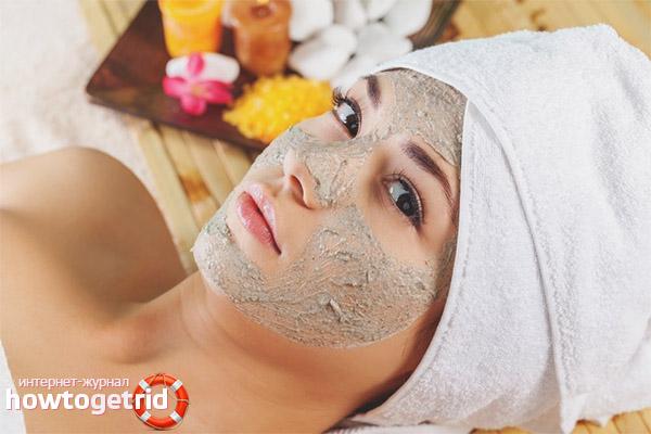 Правила применения масок из льняной муки для лица