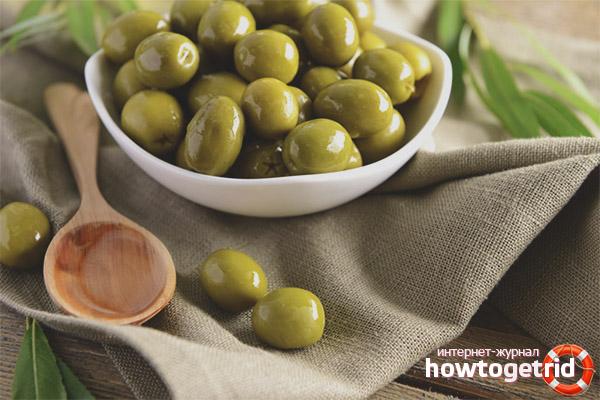 Как выбрать и хранить консервированные оливки