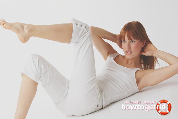 Гимнастика против хруста в коленях