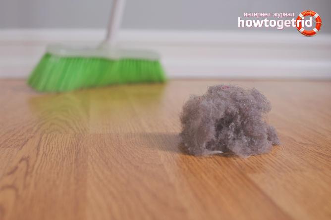 Как избавиться от пыли