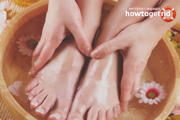 Как избавиться от запаха ног
