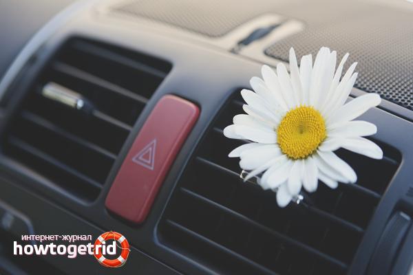 Как избавиться от запаха в автомобиле