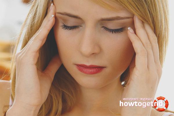 Как избавиться от головной боли при беременности