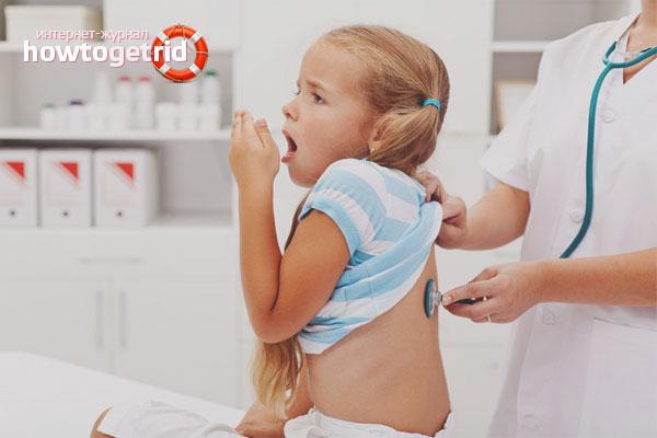 Как избавиться от сильного кашля у ребенка