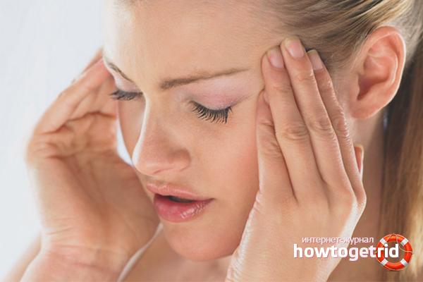 Лечение головных болей при беременности