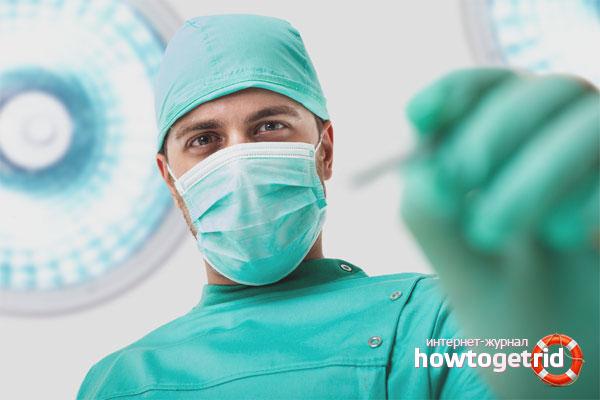 Хирургические методы избавления от гинекомастии
