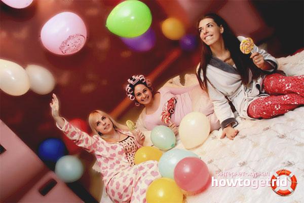 Идеи для развлечений на пижамной вечеринке