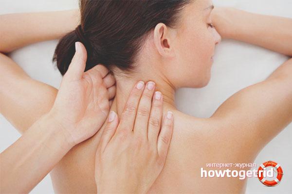 Как избавиться от боли в шее в домашних условиях