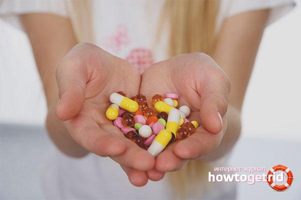Лечение цистита у беременных при помощи медикаментов