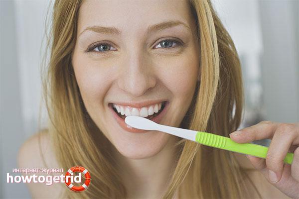 Профилактика зубного камня