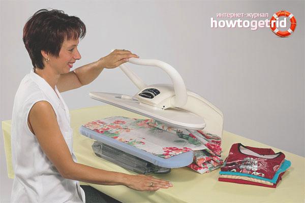 Типы гладильного оборудования