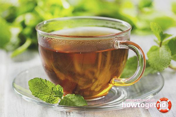 Травяной чай из мяты от бессонницы