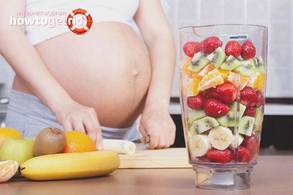Здоровое питание в первом триместре беременности