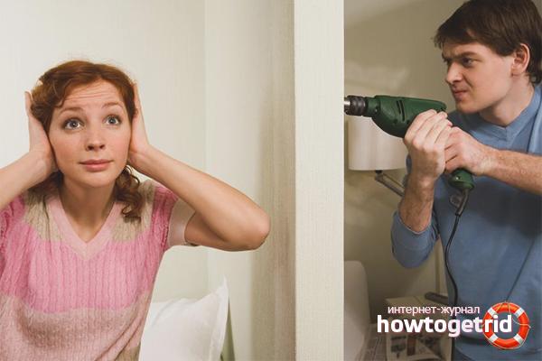 Как избавиться от шумных соседей