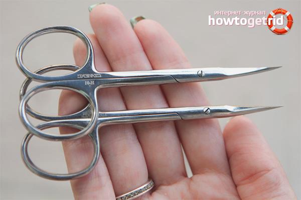 Как заточить маникюрные ножницы