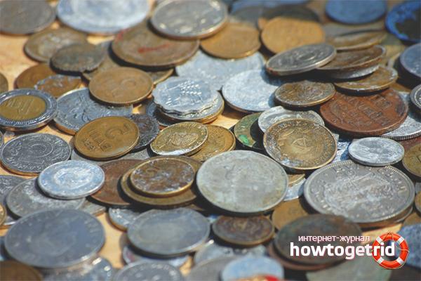 Как очистить старые монеты