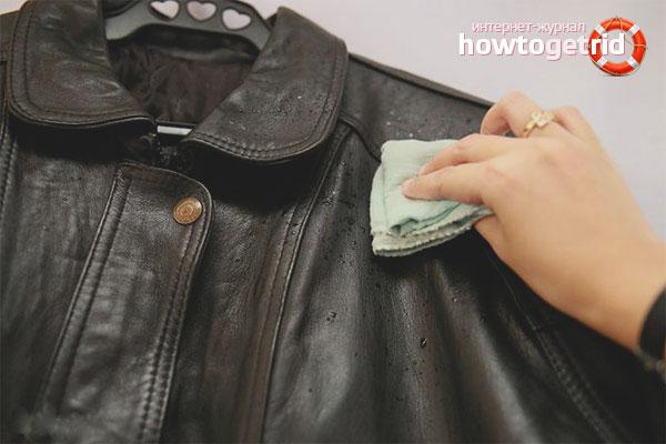 Как очистить жирное пятно с куртки