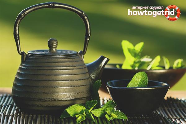 Как похудеть с помощью зелёного чая