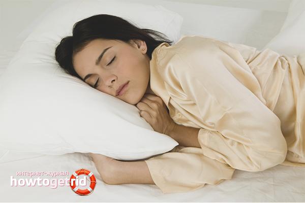 Как правильно спать