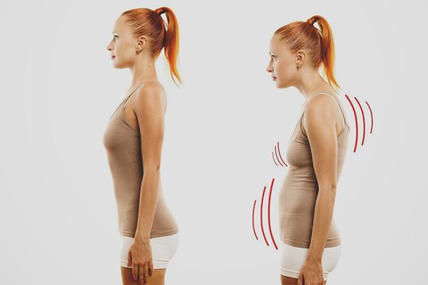 Как приучить себя держать спину ровно