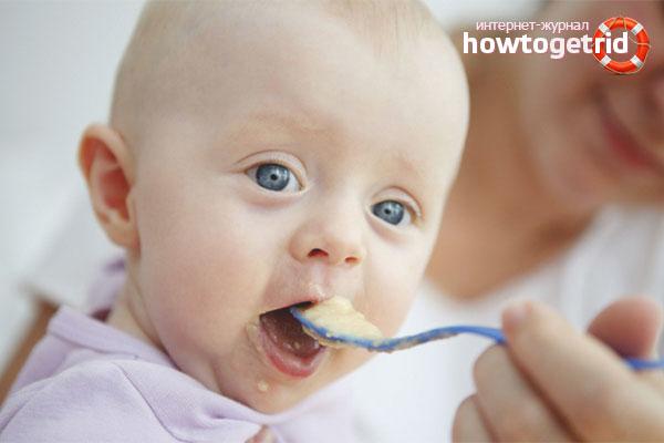 Когда и как вводить банан в прикорм ребенку