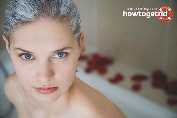 Маски для объемных волос