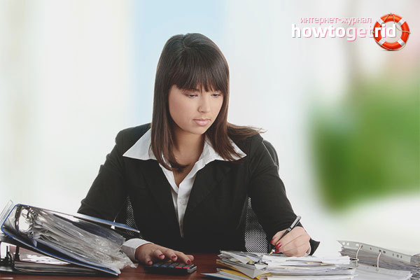 Профессия для девушки - бухгалтер