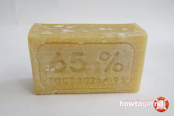 Рецепты масок из хозяйственного мыла