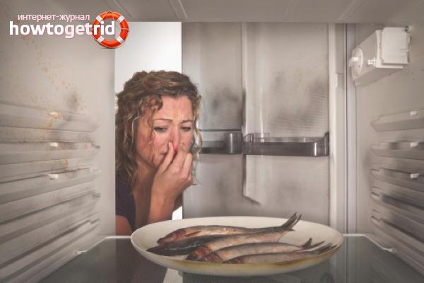 Избавляемся от запаха рыбы на посуде