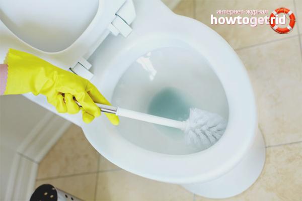 Как избавиться от запаха в туалете