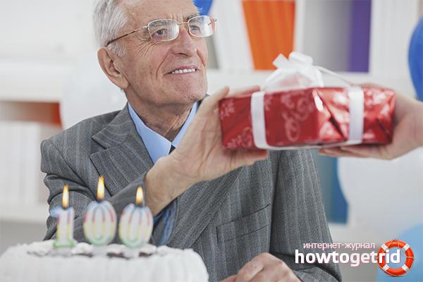 Как поздравить дедушку с днем рождения