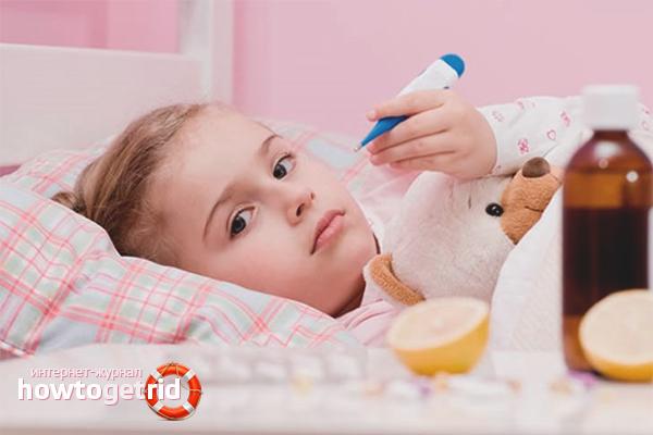 Как сбить температуру домашними средствами