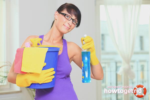 Как убираться в квартире